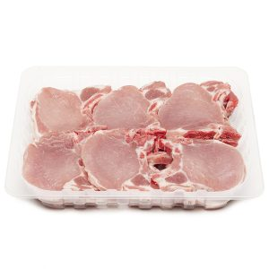 Chuletero de cerdo cortado B.G.