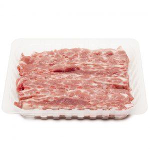 Costilla de cerdo a churrasco B.G.
