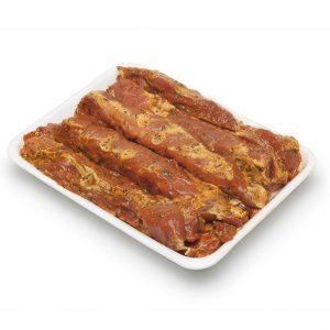 Costella de porc adobada