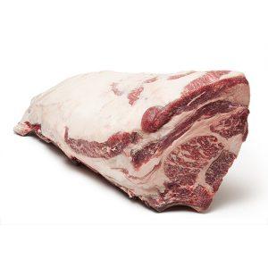 Lomo con hueso madurado de vaca gallega