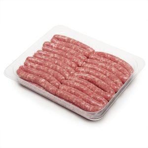 Salsitxes de porc sense pebre
