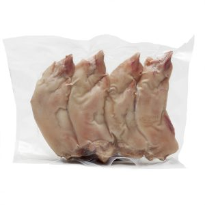 Pies de cerdo cocidos